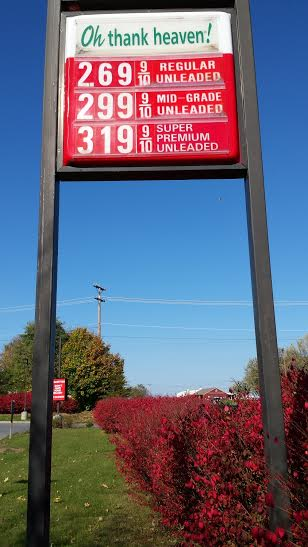 7-11 near White Post, VA. 10/25/2014