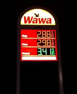 Wawa Gas Frederick, MD. 10-31-2014
