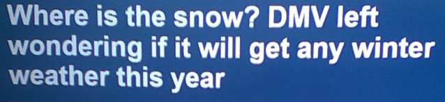 """WEATHER WARS WINTER WARS: 2017 SNOW DROUGHT! The Only Droughts Allowed! Weather Forecasters Asking """"Where's The Snow?"""" Less Than 1″ So Far This Year, No Blizzards In Forecast! WOW!!!"""