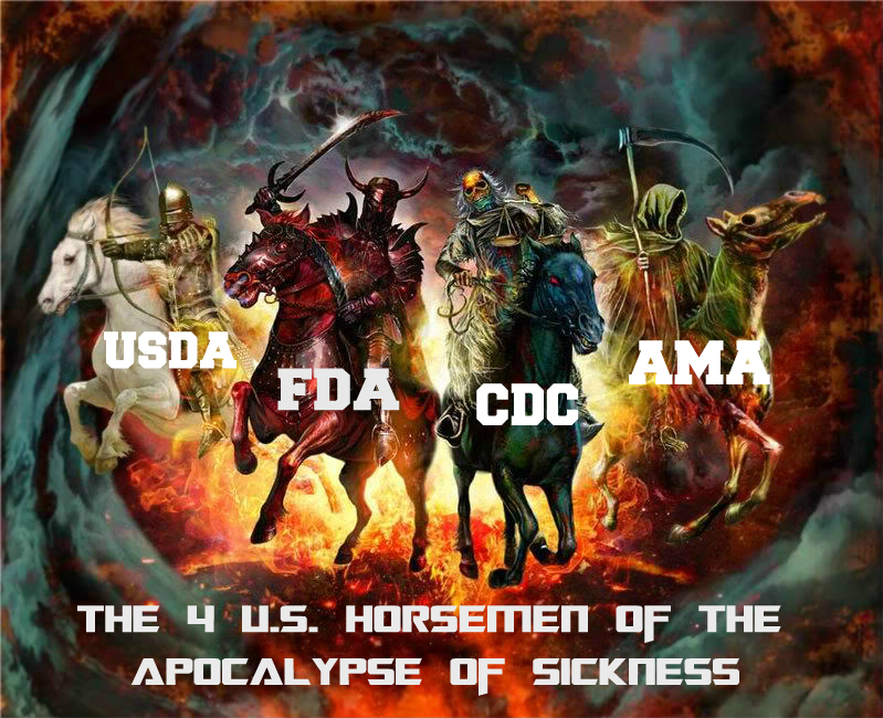 4 horsemen of sickness