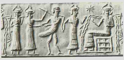 "comparison of the sumerian gods and As ""father of the gods"", an was thought to be the creator and head of the sumerian gods and goddesses, the annuna (akkadian annunaki) annuna meaning ""sons of an"" or ""princely offspring"" many other sumerian gods and goddesses were thought to be his children in different myths."