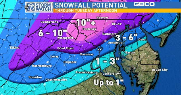 WEATHER WARS WINTER WARS: Winter Strikes Back! Snow Stormzilla! East Coast Protector Set-Up Is Down
