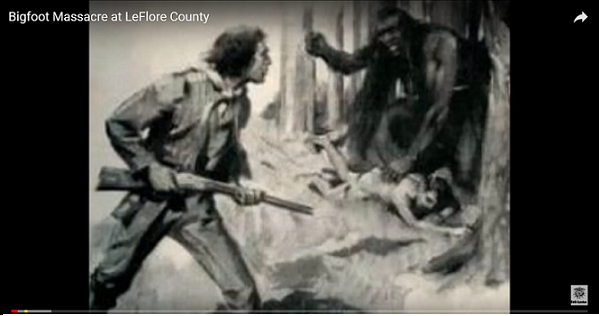 """BIGFOOT SOFT DISCLOSURE PART 1: Early Bigfoot Reports – T. Roosevelt """"The Bauman Story"""",  """"Kidnapped"""", """"LeFlore County Massacre"""", """"Battle At Ape Canyon"""""""