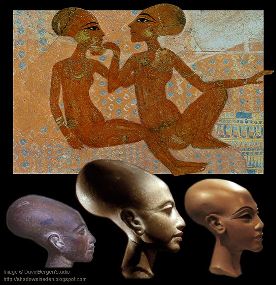 Descendants of Ancient Egyptian Pharaoh. Which is Gene-Engineered humans by Aliens.