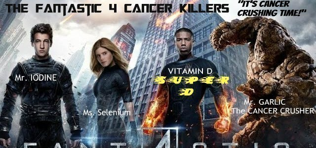 "OPERATION HEALTH-STORM: CANCER WARS – The Fantastic 4 Cancer Killers ""Cancer: The Decimator Protocols"""