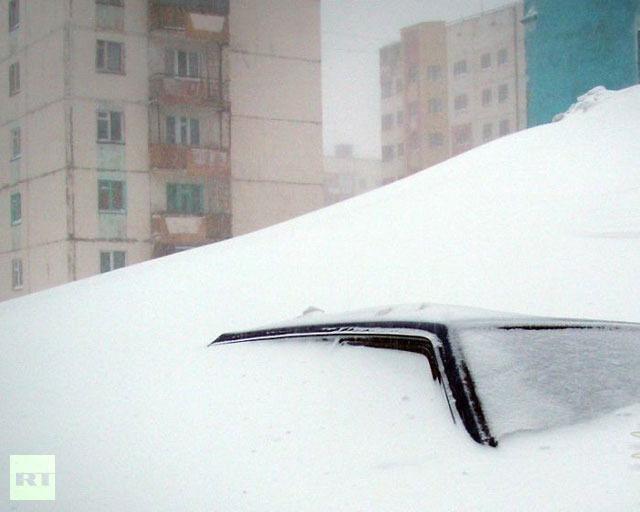 Norilsk (Photo from bigpicture.ru)