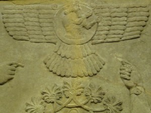 winged ufo Sumerian Artifacts
